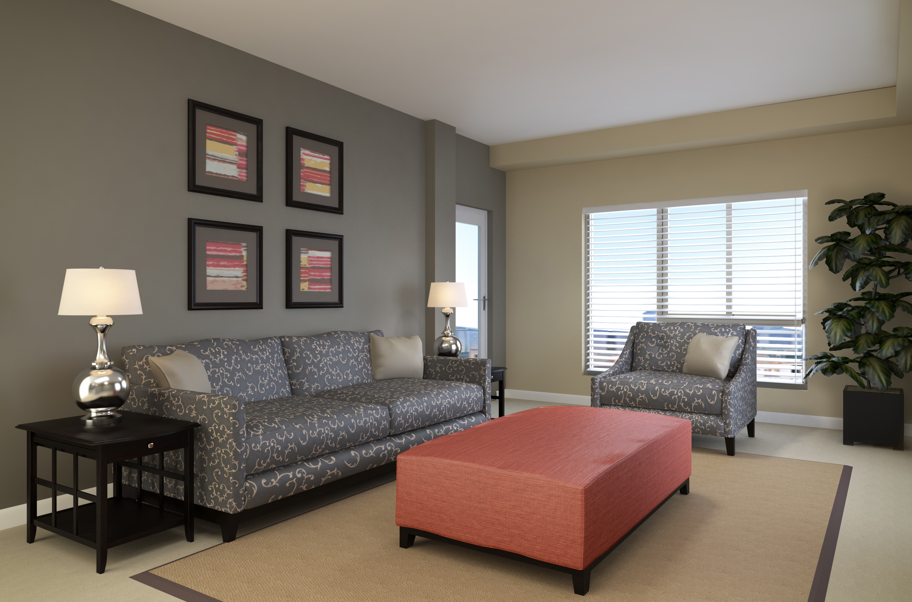 Introducing a Living Room at Genesee, it's Anything but Standard