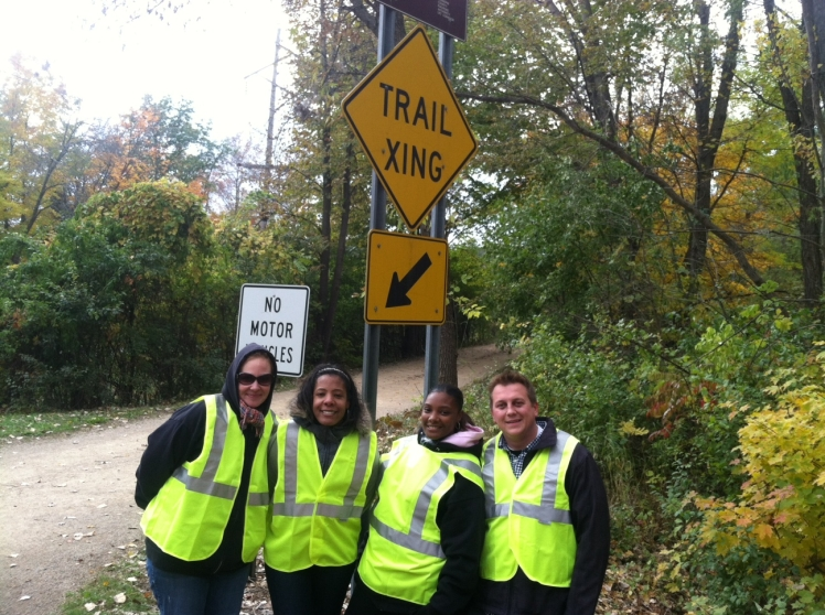 stonehill team-adopt a path